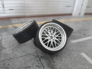 1:18 Scale BBS LEMANS 19 INCH REAL ALU WHEELS, NEW! several colors available!