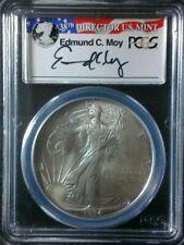1994 $1 Silver Eagle Dollar 1 oz - Moy Signature - PCGS MS69 Key Date!