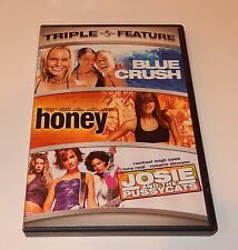 Blue Crush/Honey/Josie and the Pussycats (DVD, 2007, 2-Discs) WS Triple Feature
