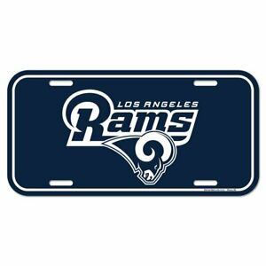 Wincraft NFL License Plate Sign - Los Angeles Rams