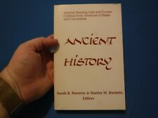 Ancient History: Selected Reading Lists & Course Outlines- Pomeroy, 1986