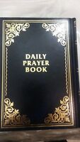 SIDDUR Jewish Prayer Service Book Hebrew English, Synagogue Judaica