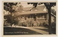 The Club House Teachers College Greeley Colorado Postcard 1927