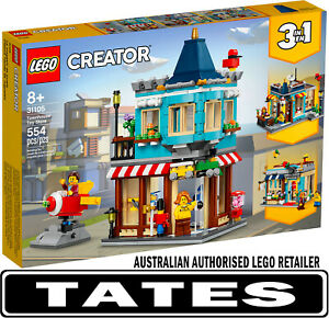 LEGO 31105 Townhouse Toy Store  - Creator  3-in-1 from Tates Toyworld