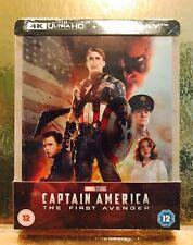STEELBOOK Captain America The first avenger [ Zavvi Limited ] 2D/4K