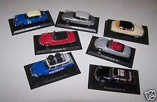 @X LOT VOITURES DE COLLECTION 1/43e CITROEN DS 21 CABRIOLET, DS 19, ID 21 BREAK
