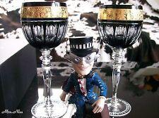 Rosenthal VERSACE Prestige Gala 2 x Weissweingläser Black 0,20 l. **NEU & OVP**