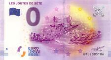 34 SETE Les joutes, 2017, Billet 0 € Souvenir