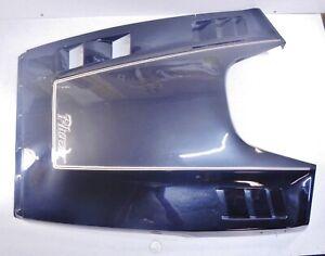 -86H-W77141-00-00 89 Phazer Deluxe PZ480E Enticer Dark Grey/Black Hood Shroud