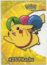 2000 Topps Pokemon TV Animation Edition Series 2 Clear Card Pikachu PC1