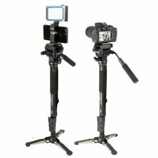 "Tripod Lightweight Monopod 58"" Tripode With Quick Release Plate Video Ball Dslr"