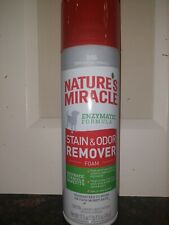 Nature'S Miracle Stain& Odor Remover Foam Formula ,disinfectantFor Dogs 17.5 oz