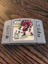 NHL Breakaway 99 Nintendo 64 N64 Game Cart NE5