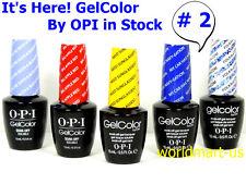 OPI Nail Polish Soak Off UV/LED Base Top Color Series #2 /Choose Any Color