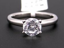 Scott Kay Platinum Round Diamond Engagement Promise Ring M1237 Semi Mounting