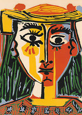 Picasso # 07 cm 50x70 Poster Affiche Plakat Cartel Stampa Grafica Art papiarte