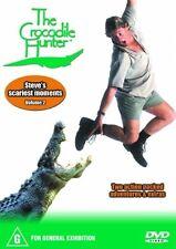 Crocodile Hunter : Vol 2 GENUINE R4 DVD RARE STEVE IRWIN'S SCARIEST MOMENTS