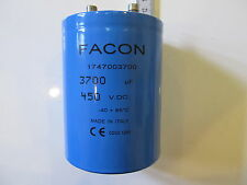 FACON 3700mF 450VDC ELECTROLYTIC SMOOTHING CAPACITOR
