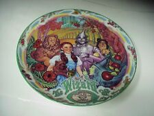 "Wizard of Oz Off to See Wizard 7 1/2"" Collector - Windup Music Box Plate H-871"