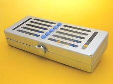 DENTISTICO/chirurgico sterilizzazione bloccaggio Vassoio per 5 strumenti CE,