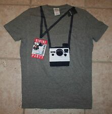 NWT Abercrombie Boys XL Bikini Press Pass Muscle Fit SS T-Shirt - LAST ONE!