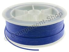 5 metres BLUE 14AWG Silicone Wire. Super flexible high temperature. UK seller