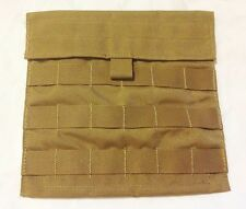 Military Army USMC MOLLE Ammo Utility Side Pouch Pocket Coyote Brown New Qty 2