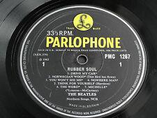 The Beatles-Rubber Soul UK 1965  PMC 1267 Original TRANSITIONAL VERSION. RARE!