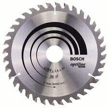 Bosch Optiline Wood Circular Saw Blade 184x30x36 2608640611