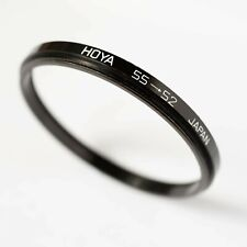 HOYA 55-52mm STEP DOWN (STEPPING) FILTER RING ADAPTER