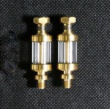 2x Glasöler M5 regelbar für Dampfmaschine, Stirlingmotor, Flammenfresser
