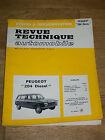REVUE TECHNIQUE AUTOMOBILE PEUGEOT 204 DIESEL Etude & documentation