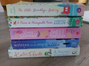 Womens fiction book bundle Katie fforde Lucy diamond