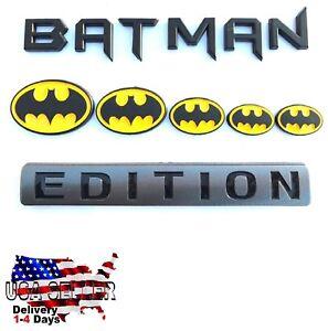 BATMAN FAMILY EDITION Trunk Emblem Truck OFF ROAD car LOGO Plaque DECAL SIGN