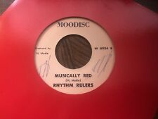Lloyd jones - rome/ rhythm rulers - misically red in NM 45 RPM Reggae
