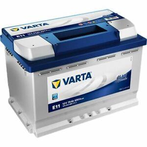 VARTA E11 Blue Dynamic 574 012 068 Autobatterie 74Ah Starterbatterie 12V