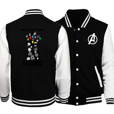 Men's Baseball Jacket WHATEVER IT TAKES AVENGERS Baseball Coat Fashion Clothing