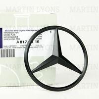 Mercedes Benz C Class W205 2014+ Matte Black Rear Boot Badge Star A2058174500