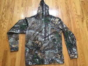 Scent Blocker Sweatshirt Hoodie Hunting Camo Realtree M NWOT