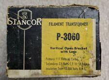 Stancor P-3060 Filament TransformerVintage NOS