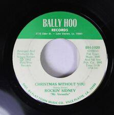 "Christmas Cajun 45 Rockin' Sidney ""Mr Versatile"" - Christmas Without You / Party"
