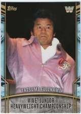2017 Topps Legends of WWE Retired Titles #18 Tatsumi Fujinami Jr Hv Championship