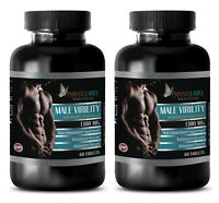 Testosterone booster to increase sex drive - MALE VIRILITY Complex - 2 Bottles