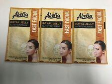 (3) Abelia ROYAL JELLY Korean Face Mask - Nourish- Hydrate & Rejuvenate