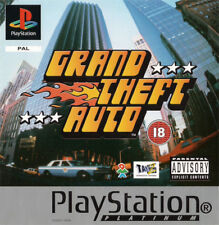 Grand Theft Auto - Platinum   PlayStation PS1 Used - No Manual/Map