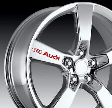8 X AUDI Decal Sticker Graphics S3 S4 S5 S6 S7 S8 RS SQ5 Vinyl Emblem Logo I