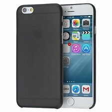 Thin Black Matte Hard Rigid Plastic Back Case Cover For iPhone 6S Plus