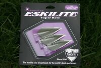 "Zwickey Eskilite, 2 Blade, Glue On Broadheads 5/16"", 110 grains, 3 pack"