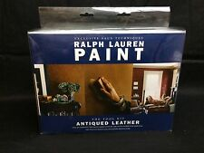 Ralph Lauren Paint Antiqued Leather Faux Painting Tool Kit New With DVD Brushes