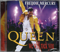 Queen and Freddie Mercury CD We Will Rock You Brand New Sealed